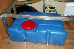 On Board Water Tank