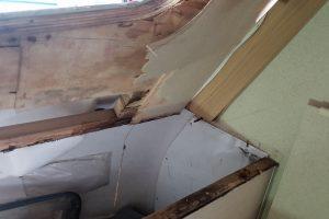 Front Window Wood Rot Repair