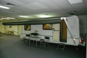 Roll Out Awning Installation